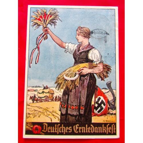 Deutsches Erntedankfest Postcard # 5372
