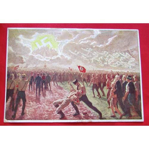 Ins dritte Reich Postcard # 5374