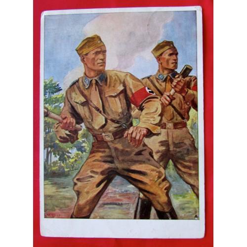 Deutscher, erwirb Das SA Postcard # 5382