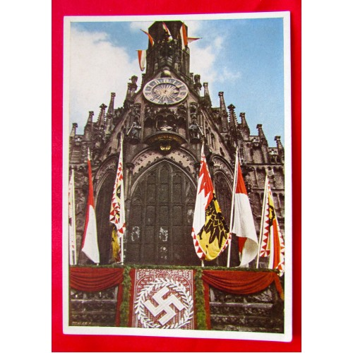 Nürnberg Stadt der Reichsparteitage Postcard # 5383