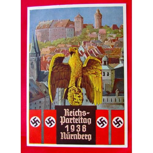 Reichsparteitag 1938 Nürnberg Postcard # 5384