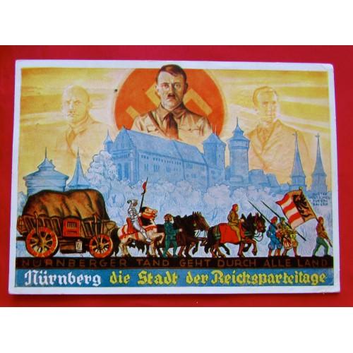 """""""Nürnberger Tand geht durch alle Land"""" Postcard # 5385"""
