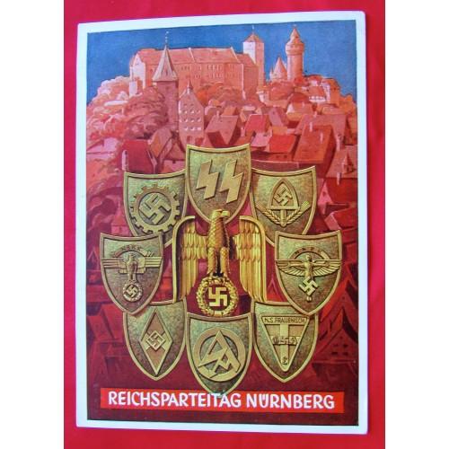 Reichsparteitag Nürnberg Postcard # 5386