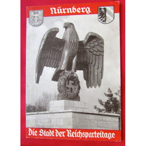 Nürnberg Die Stadt der Reichsparteitage 1935 Postcard # 5387