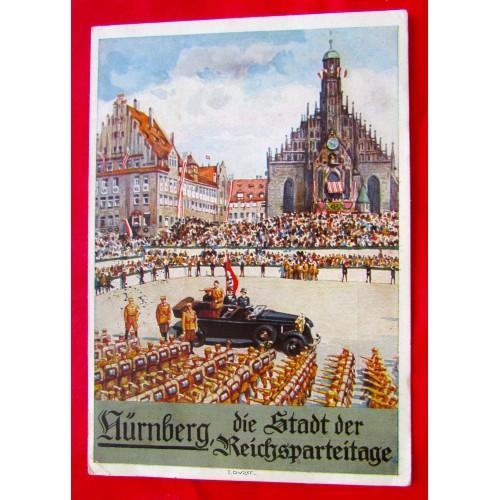 Nürnberg Die Stadt der Reichsparteitage Postcard # 5389