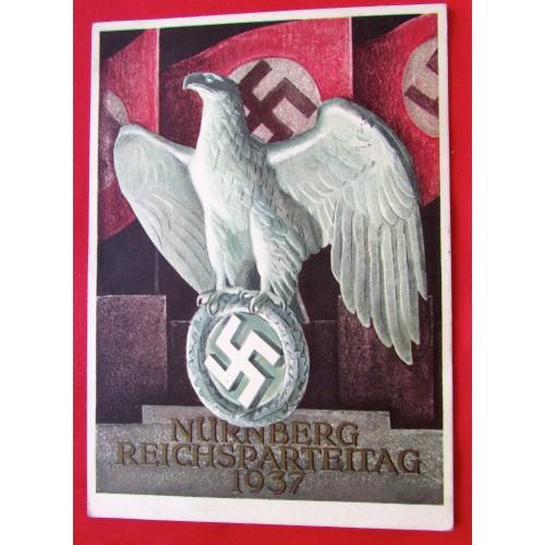 Nürnberg Reichsparteitag 1937 Postcard # 5392