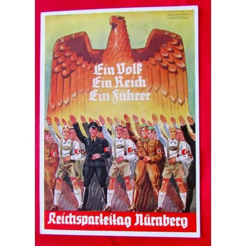 Reichsparteitag Nürnberg 1938 Postcard # 5395