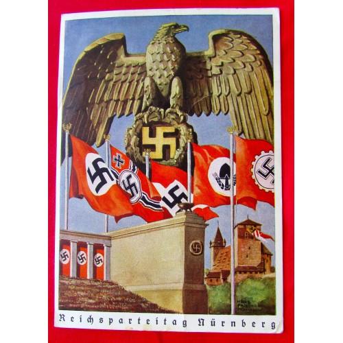 Reichsparteitag Nürnberg 1938 Postcard # 5397