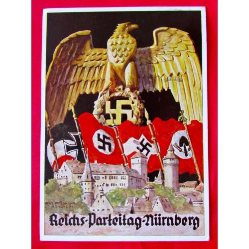 Reichs Parteitag Nürnberg 1935 Postcard # 5398