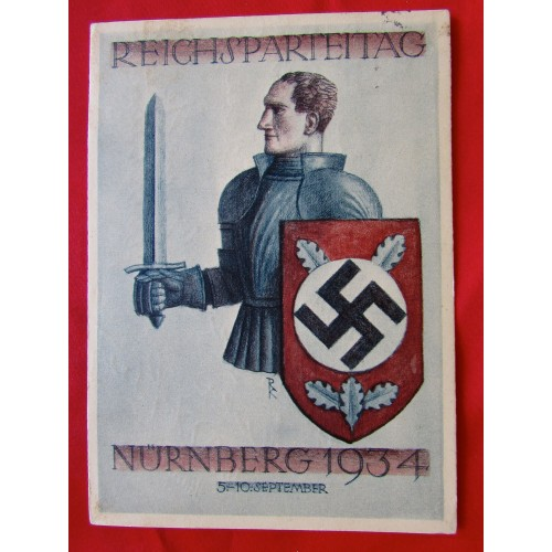 Reichsparteitag Nürnberg 1934 Postcard # 5401