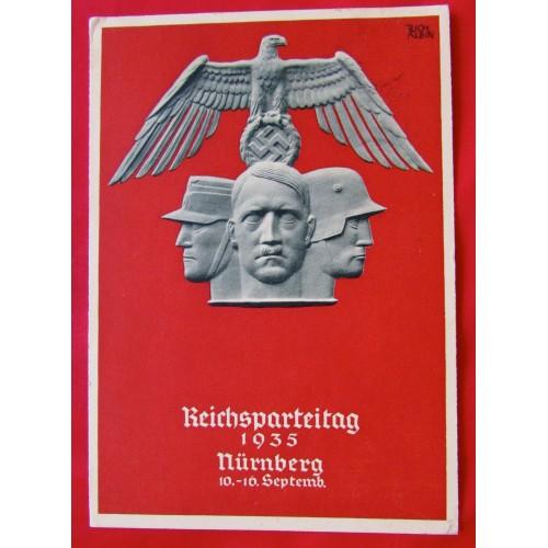 Reichsparteitag 1935 Nürnberg 10.-16. Septemb. Postcard  # 5404