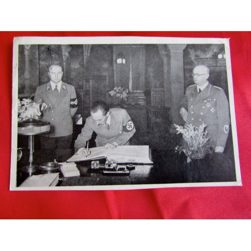 Dr. Goebbels in Posen Postcard # 5431