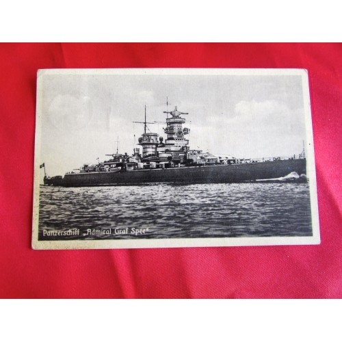 Panzerschiff Admiral Graf Spee Postcard # 5436