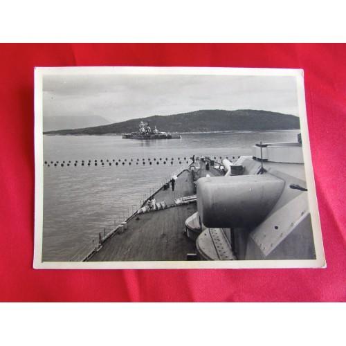 Kriegsmarine Postcard # 5437