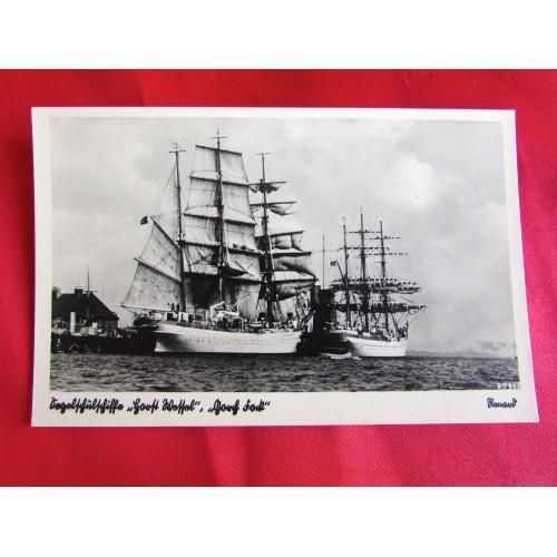 Kriegsmarine Postcard # 5439
