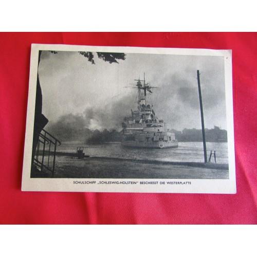 Schulschiff Schleswig-Holstein Postcard # 5444