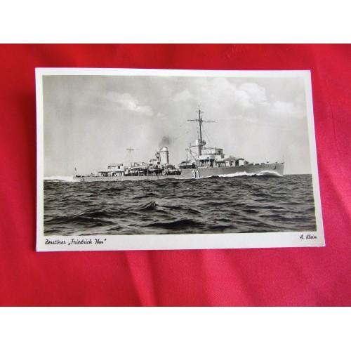 Kriegsmarine Postcard # 5451