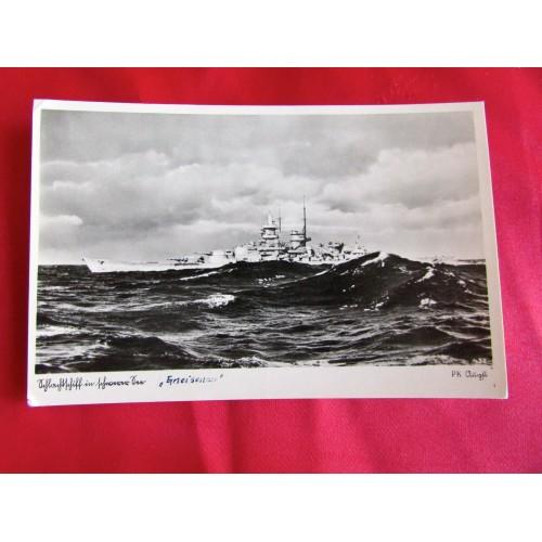 Kriegsmarine Postcard