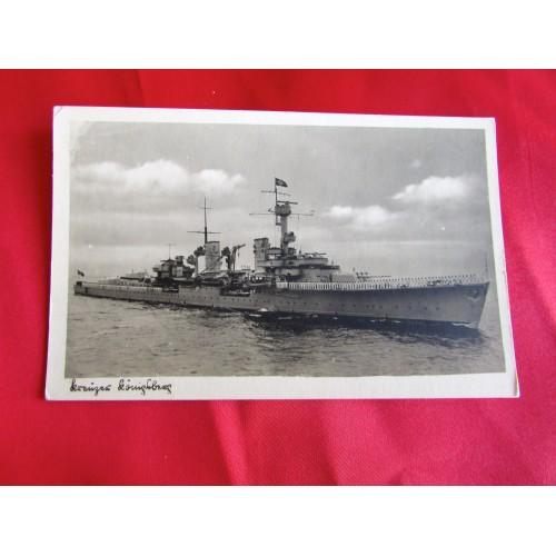 Kriegsmarine Postcard # 5453