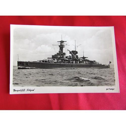 Panzerschiff Lützow Postcard # 5457