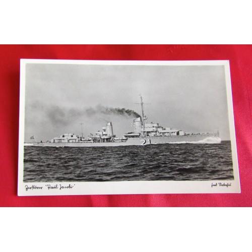 Kriegsmarine Postcard # 5458