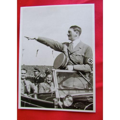 Adolf Hitler Postcard  # 5493