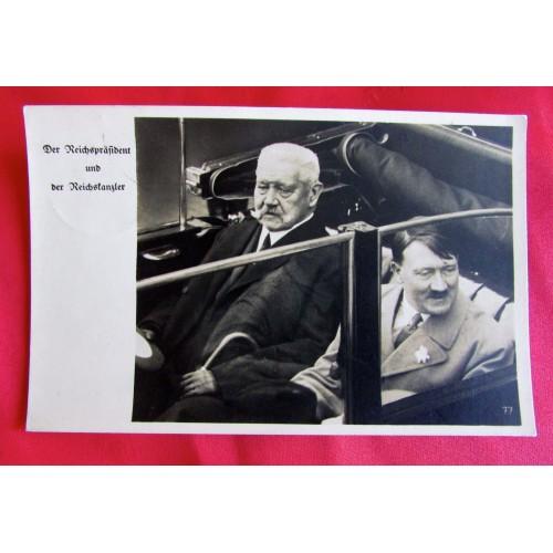 Adolf Hitler Postcard  # 5498