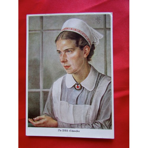 Die DRK Schwester Postcard # 5508