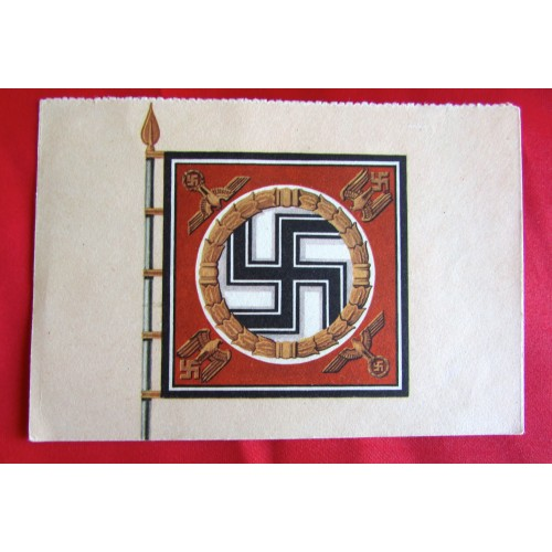 Kriegsopfer Wandkalender - Nationalsozialistische Kriegsopferversorgung Postcard # 5519