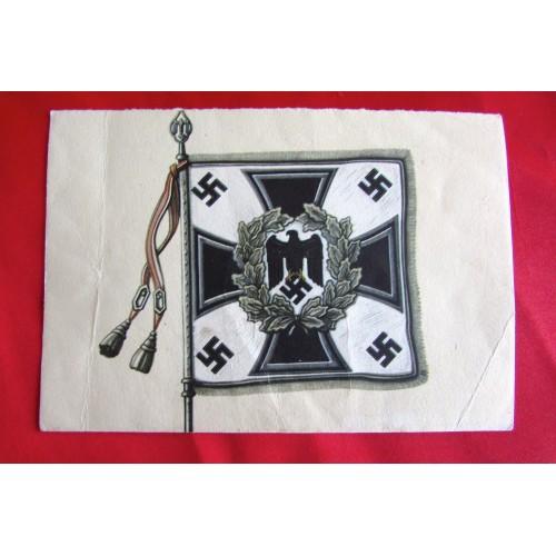 Kriegsopfer Wandkalender - Nationalsozialistische Kriegsopferversorgung Postcard # 5520