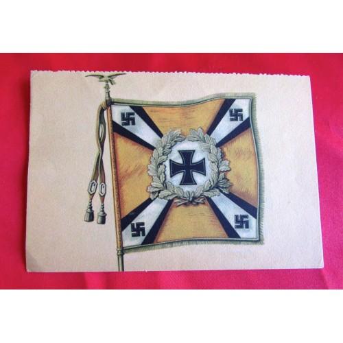 Kriegsopfer Wandkalender - Nationalsozialistische Kriegsopferversorgung Postcard # 5521