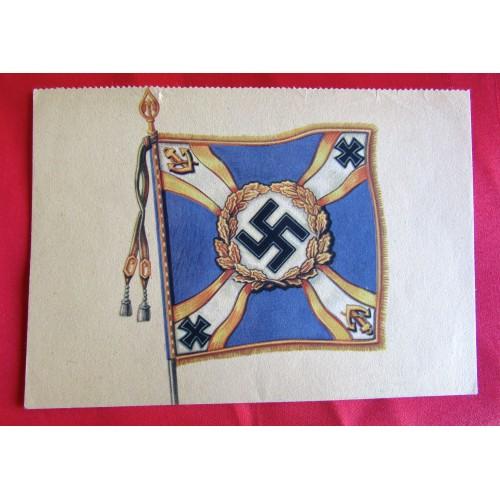 Kriegsopfer Wandkalender - Nationalsozialistische Kriegsopferversorgung Postcard # 5522