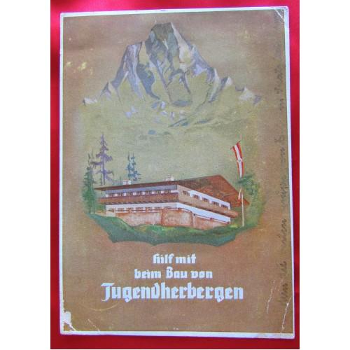 Hilf mit beim Bau von Jugenherbergen Postcard # 5527