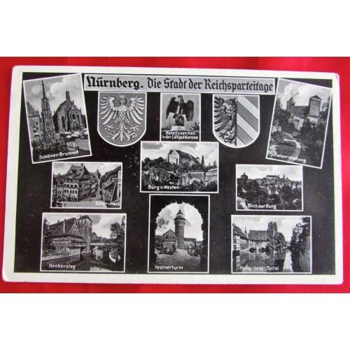 Nürnberg. Die Stadt der Reichsparteitage Postcard # 5530