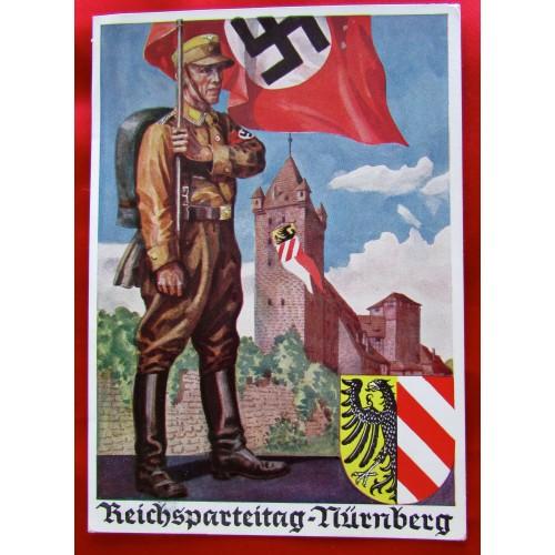 Reichsparteitag-Nürnberg 1936 Postcard # 5534