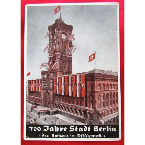 700 Jahre Stadt Berlin Postcard # 5538