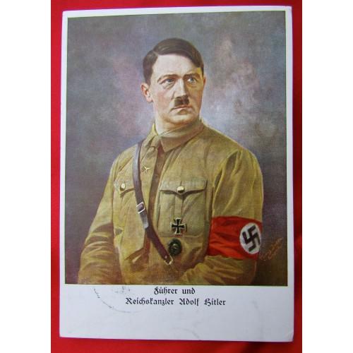 Reichskanzler Adolf Hitler Postcard # 5548
