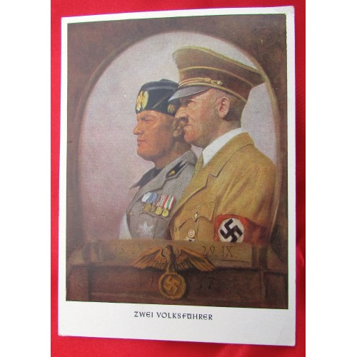 Zwei Volksführer Postcard # 5551