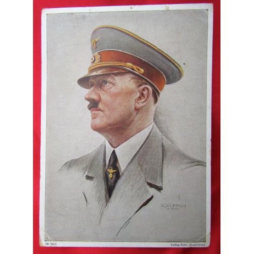 Adolf Hitler Postcard # 5552