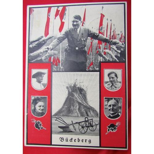 """Deutsches Erntedankfest auf dem Bückeberg"""" Postcard # 5554"""