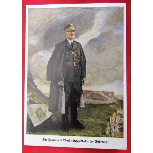 Der Führer un Oberste Befehlshaber der Wehrmacht Postcard # 5561
