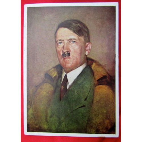 Adolf Hitler Postcard # 5565
