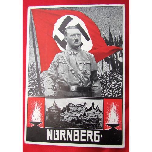Hitler Nürnberg Postcard # 5569