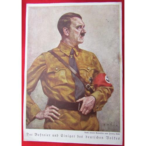 Der Befreier und Einiger des Deutschen Volkes Postcard # 5573