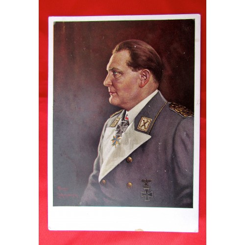 Hermann Göring Postcard # 5576
