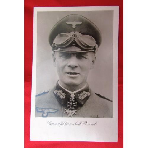 Generalfeldmarschall Rommel Postcard # 5584