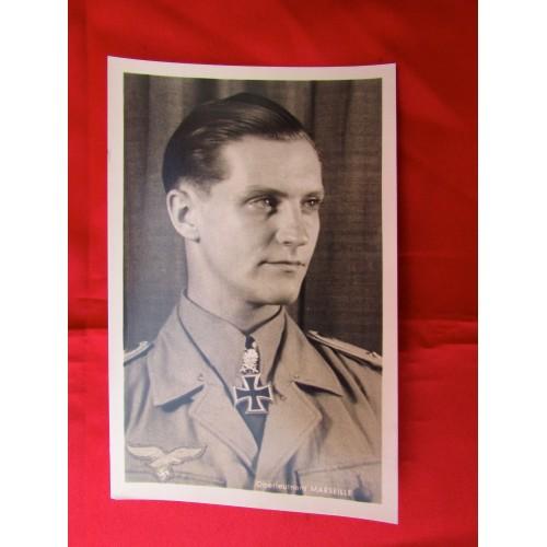 Oberleutnant Marseille Postcard # 5600