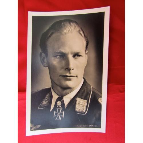 Hauptmann Baumbach Postcard # 5602