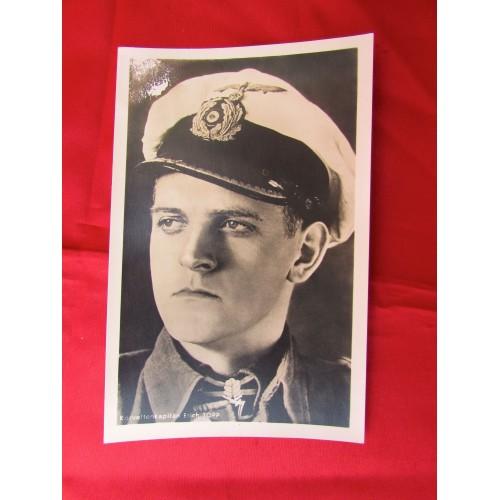 Korvettenkaptain Erich Topp Postcard # 5605