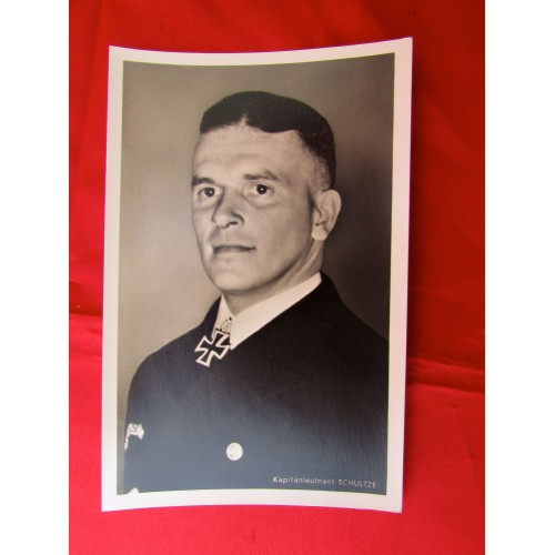 Kaptainleutnant Schultze Postcard # 5606